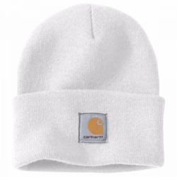 Carhartt ACRYLIC WATCH HAT White Thumbnail