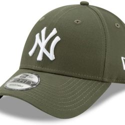 New Era LEAG ESNL 940 New York Yankees Cap - Green Med - 80636010 Thumbnail