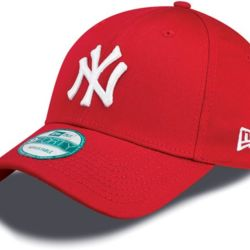 New Era 9Forty League Basic NY Yankees Dad cap red/white | New Era 940 LEAG BASIC New York Yankees C Thumbnail