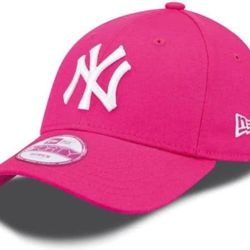 New Era 9Forty League Basic NY Yankees Dad cap pink/white | New Era FASHION ESS 940 New York Yankees Thumbnail