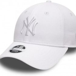 New Era WMN ESSENTIAL 940 New York Yankees Cap - White - One size Thumbnail