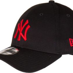 New Era LEAGUE LIMITED EDITION 9FORTY New York Yankees Cap - Black/Deep Red - One size Thumbnail